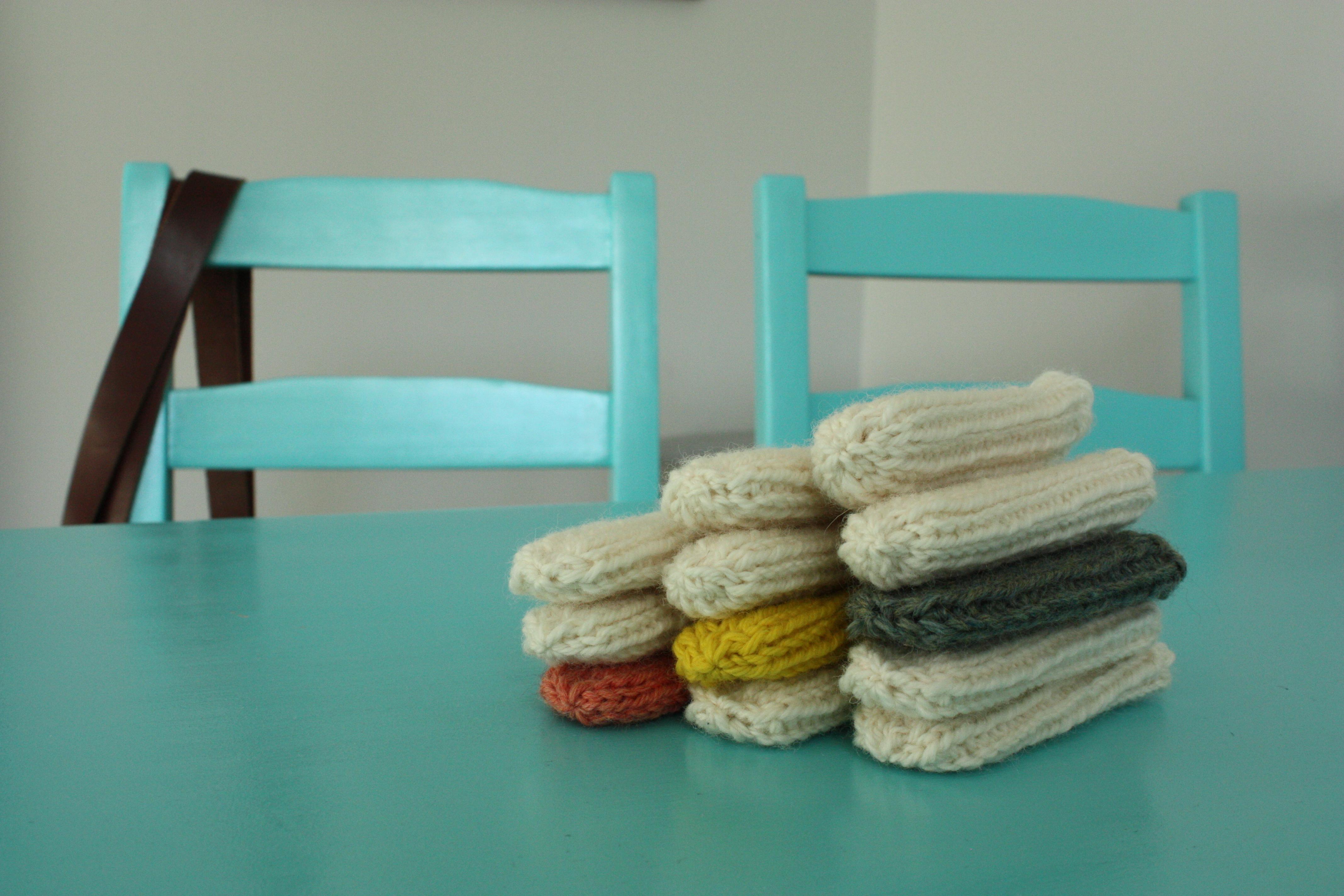 Small Things: DIY On-Trend Chair Socks