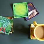 Small Things: DIY Fabric Instagram Coasters