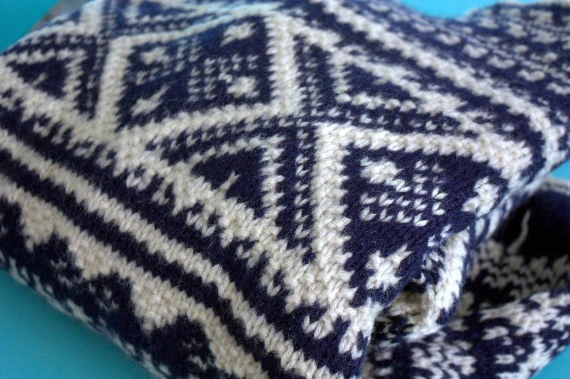 Monday Mending: Alex's Sweater