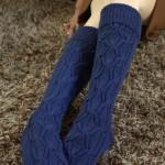 Pattern: Undercurrent Socks & Collar