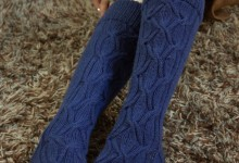Pattern: Undercurrent Socks &amp; Collar