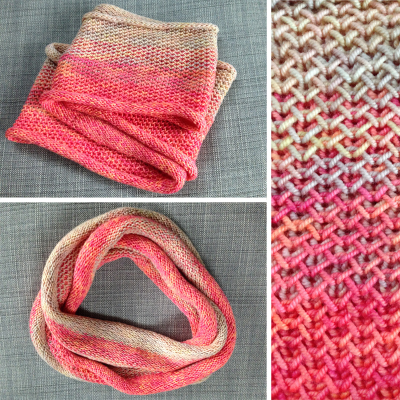 neon ombre scarf